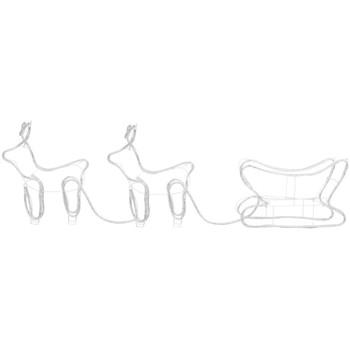 Casa Decorazioni natalizie VidaXL Decorazione natalizia Bianco