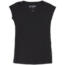 Abbigliamento Donna T-shirt maniche corte Ko Samui Tailors Icon T-Shirt Bianco Nero