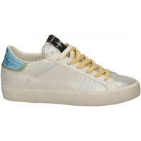 Scarpe Donna Sneakers basse Crime London LOW TOP DISTRESSED white
