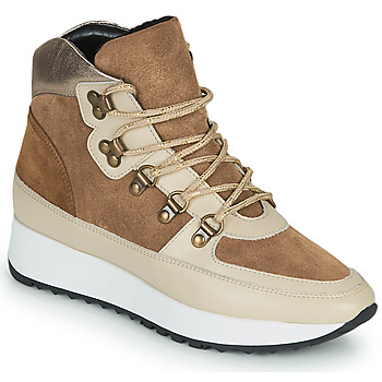 Scarpe Donna Sneakers alte JB Martin COURAGE Marrone
