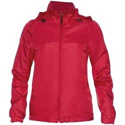 Abbigliamento Donna Giacche Gildan WR800L Rosso