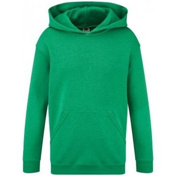 Abbigliamento Unisex bambino Felpe Fruit Of The Loom SS14B Verde