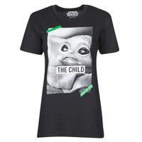 Abbigliamento T-shirt maniche corte Yurban OUFIMM Nero
