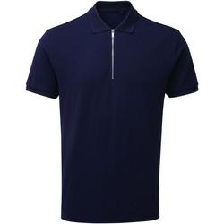 Abbigliamento Uomo Polo maniche corte Asquith & Fox AQ013 Blu navy