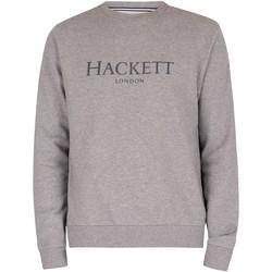 Abbigliamento Uomo Felpe Hackett Felpa girocollo grigio