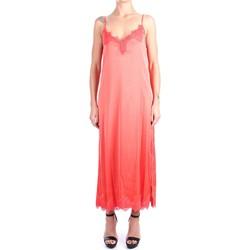 Abbigliamento Donna Abiti lunghi Pink Memories 11003 Lunghi Donna Arancio Arancio