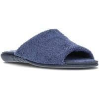 Scarpe Donna Pantofole Vulladi BENIDORM 6204R MARINO