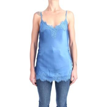 Abbigliamento Donna Top / Blusa Pink Memories 11000 Canotte Donna Blue Blue