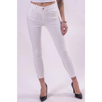 Abbigliamento Donna Pantaloni Fracomina FR21SP2002W40101 Bianco