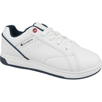 Scarpe Unisex bambino Sneakers basse Champion Ace Court Tennis As 168015-D10 Blanc