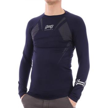 Abbigliamento Uomo T-shirts a maniche lunghe Hungaria H-15TOUYY000 Blu