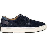 Scarpe Uomo Sneakers basse Brimarts 417710 SNEAKERS SETA SIRENA BLU Blue