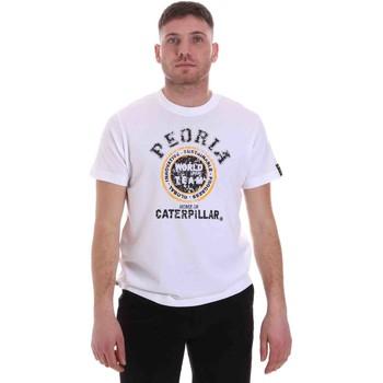 Abbigliamento Uomo T-shirt maniche corte Caterpillar 35CC301 Bianco