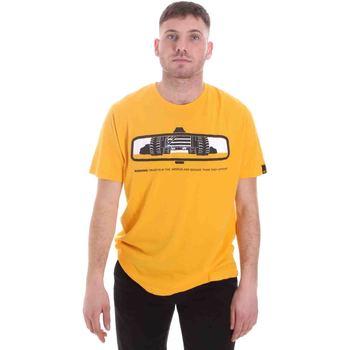 Abbigliamento Uomo T-shirt maniche corte Caterpillar 35CC2510234 Giallo
