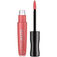Bellezza Donna Rossetti Rimmel London Stay Satin Liquid Lip Colour 600