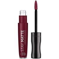 Bellezza Donna Rossetti Rimmel London Stay Satin Liquid Lip Colour 810 5,5 ml