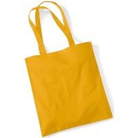 Borse Tote bag / Borsa shopping Westford Mill W101 Mostarda