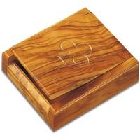 Casa Cestini, scatole e cestini Signes Grimalt Box Carte Da Gioco Con 2 Barajas Marrón