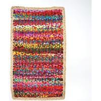 Casa Tappeti Signes Grimalt Tappeto Multi Con Iuta Multicolor