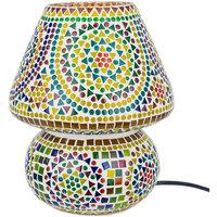 Casa Lampade da tavolo Signes Grimalt Lampada Mosaico Verde