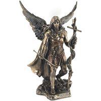 Casa Statuette e figurine Signes Grimalt Arcangelo San Gabriele Dorado