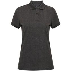 Abbigliamento Donna Polo maniche corte Asquith & Fox AQ025 Carbone