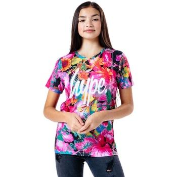 Abbigliamento Unisex bambino T-shirt maniche corte Hype  Multicolore