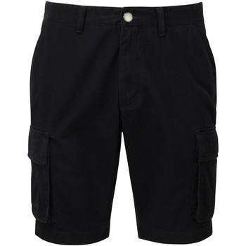 Abbigliamento Uomo Shorts / Bermuda Asquith & Fox AQ054 Nero