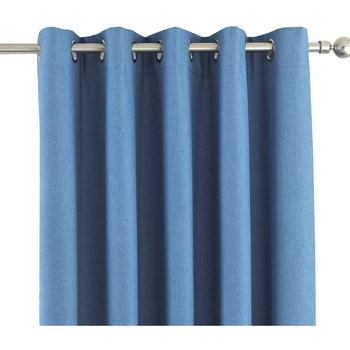 Casa Tende Riva Home Taille 2: 117 x 183cm Blu jeans