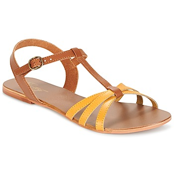 Scarpe Donna Sandali Betty London IXADOL Giallo / Camel