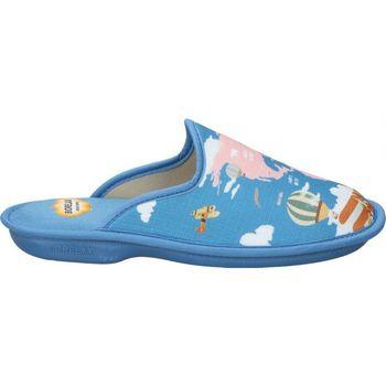 Scarpe Donna Pantofole Cosdam Z. DE CASA  4046 SEÑORA AZULON Bleu
