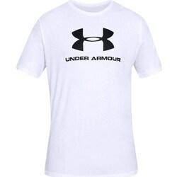 Abbigliamento Uomo T-shirt maniche corte Under Armour Sportstyle Logo Tee Bianco