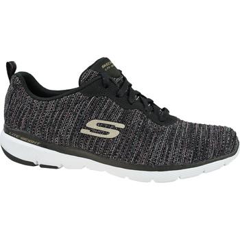 Scarpe Donna Sneakers basse Skechers Flex Appeal 3.0 Endless Glamour Noir