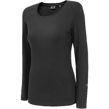 Abbigliamento Donna T-shirts a maniche lunghe 4F Women's Longsleeve Noir