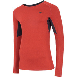 Abbigliamento Uomo T-shirts a maniche lunghe 4F Men's Functional Longsleeve Rouge