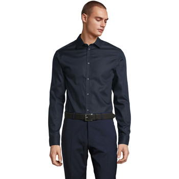 Abbigliamento Uomo Camicie maniche lunghe Sols BLAISE MEN Negro noche