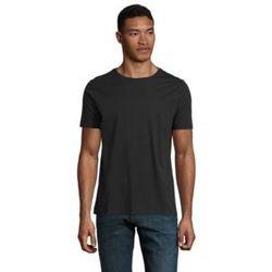 Abbigliamento Uomo T-shirt maniche corte Sols LUCAS MEN Negro profundo