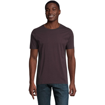 Abbigliamento Uomo T-shirt maniche corte Sols LUCAS MEN Burdeos