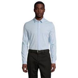 Abbigliamento Uomo Camicie maniche lunghe Sols BALTHAZAR MEN Azul claro