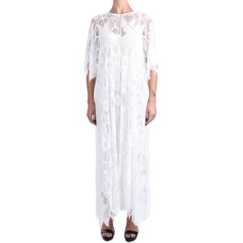 Abbigliamento Donna Abiti lunghi Pink Memories 11048 Lunghi Donna Bianco Bianco