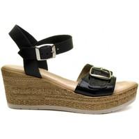 Scarpe Donna Sandali Purapiel 70161 BLACK