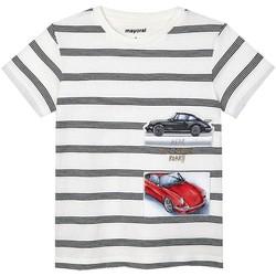 Abbigliamento Bambino T-shirt & Polo Mayoral  Blanco