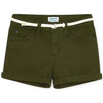 Abbigliamento Bambina Shorts / Bermuda Mayoral  Verde