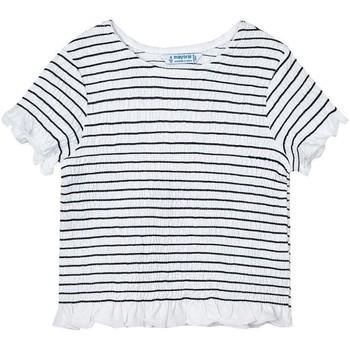 Abbigliamento Bambina T-shirt & Polo Mayoral  Negro