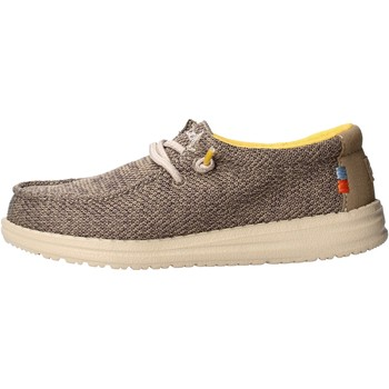 Scarpe Bambino Mocassini Hey Dude - Sneaker beige safari WALLY YOUTH 0408 BEIGE
