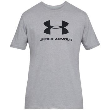 Abbigliamento Uomo T-shirt maniche corte Under Armour Sportstyle Logo Tee Grise