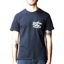 Abbigliamento Uomo T-shirt maniche corte Barbour - T-shirt blu MTS0835-NY91 BLU