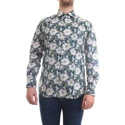 Abbigliamento Uomo Camicie maniche lunghe Xacus 81543.002 Camicia Uomo fantasia fiori fantasia fiori