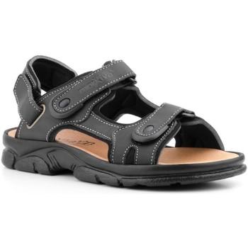 Scarpe Uomo Sandali Morxiva Shoes  Noir