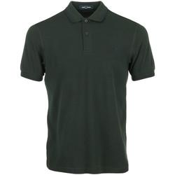 Abbigliamento Uomo Polo maniche corte Fred Perry Twin Tipped Shirt Verde